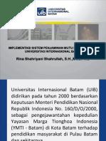 Rina-Penerapan SPMI Di UIB