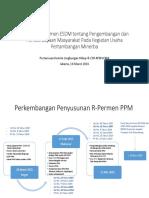 Rancangan Permen PPM ESDM
