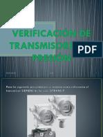 Verificación de Transmisores De