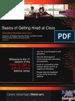 HGJC_ Session 1_ Basics of Getting a Job at Cisco