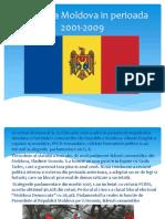 Republica Moldova in Perioada 2001-2009