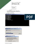 Mini-SAP 4.6D Installation