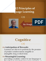12 Principles of Language Learning