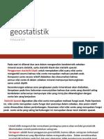 1. geostatistik