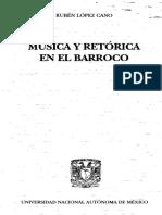 Musica y Retorica en El Barroco