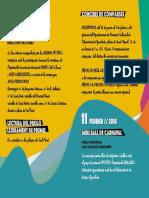 Programa Carnestoltes 2018