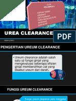 Urea Clearance
