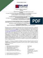 Mpmae-res-Vcp Balanz Capital Valores Clase 3 y 4- Aviso de Resultados 05.04.17