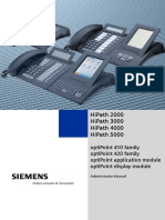 Siemens Hipath Optipoint Admin Manual