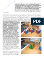 Rubik's 4x4x4 Story