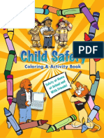 Child Safety Coloring Book-Color