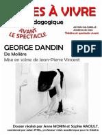 Georges Dandin - Pièces à Vivre (Avant La Représentation)