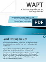 WAPT Pro - Website Load and Performance Testing