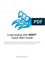 Load testing with WAPT Pro