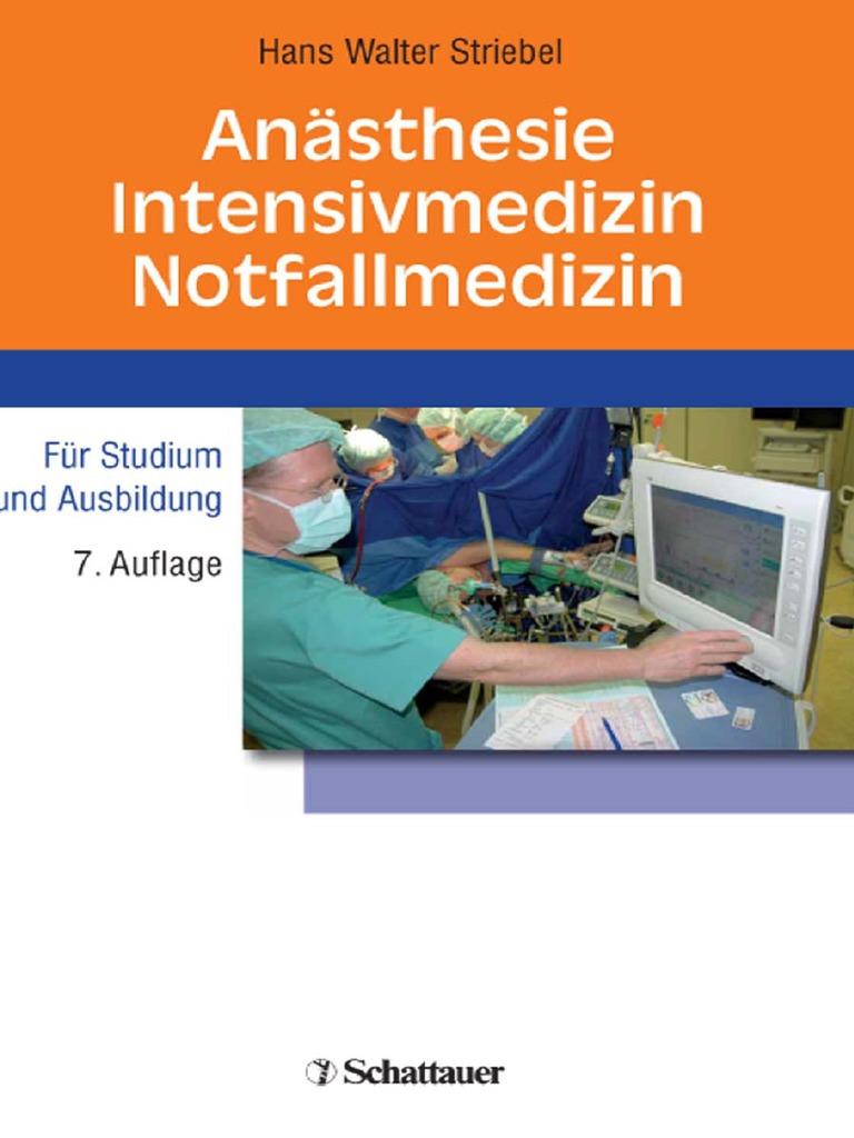 Anaesthesie, Intensivmedizin, Notfallmedizin