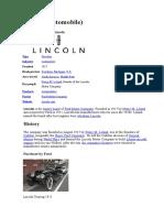 Lincoln, Wikipedia