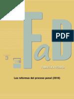 Las Reformas Del Proceso Penal (2016)