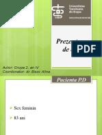 Caz clinic TVP + TEP