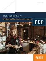 The Age of Now - Creating Real-time Customer Engagement