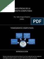 BASES FÍSICAS DE LA  TOMOGRAFÍA COMPUTADA ultima