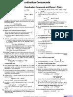 [Dpp] Coordination Compounds - (Solutions)