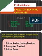 Hukum Newton Tentang Gravitasi (Ppt)