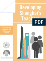 Developing Shanghai Teachers