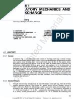 Respiratory Mechanics and Gas Exchange