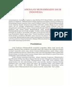 Artikel Peran Kebangsaan Muhammadiyah Di Indonesia1