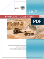 Proposal Tugas Akhir Geoteknik