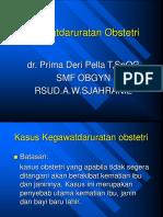 2. Kegawatdaruratan Obstetrik.ppt