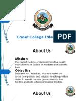 Cadet Colleg Fateh Jang