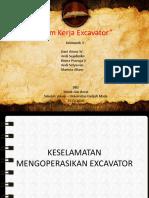 Sistem Kerja Excavator