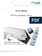 UK-Installation of LED Strips