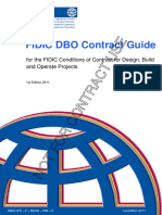 FIDIC DBO Contract Guide, 1st Edition