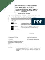 Contoh Pengesahan Report PSM