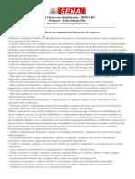 A Importância Da Administração Financeira Da Empresa Aula4