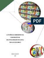 As Potências Emergentes na Construção de Multipolaridade Exclusiva