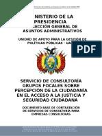 Ministerio de La Presidencia
