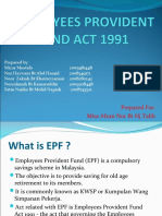 Group Law Epf