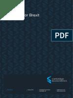 Preparing for Brexit Final Report 110118