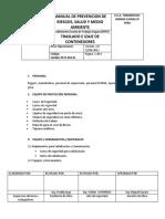 PROCEDIMIENTO SSOMA-PETS-003 01    TRASLADO E IZAJE DE CONTENEDORES.docx