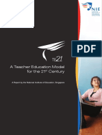 A Teacher Education Model for the 21st Century (TE21) - Te21 Online Version Updated - Singapura