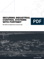 SB Securing Industrial Control Systems With Fortinet
