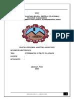 Quimica analitica  Determinacion Del Calcio
