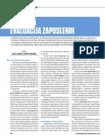 Godišnja evaluacija zaposlenih