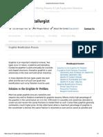 Graphite Beneficiation Process