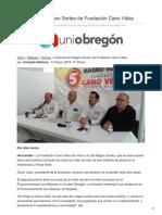 14/01/2018  Quinto Magno Sorteo de Fundación Cano Vélez