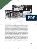 Agenda in the EU