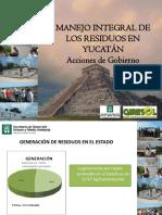 Manejo Integral Residuos Yucatan